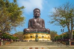 giant Buddha statue in changhua, taiwan