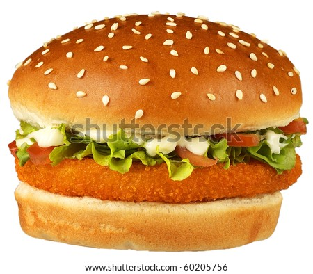 giant burger,fish burger,