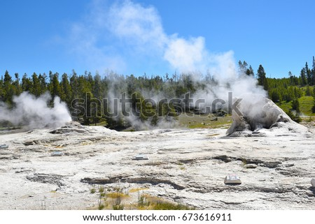 giant geyser is the namesake...