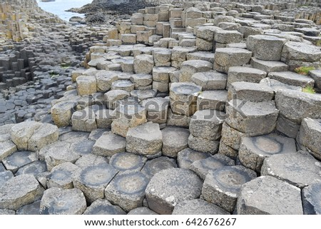 Giant steps, Northern Ireland #642676267