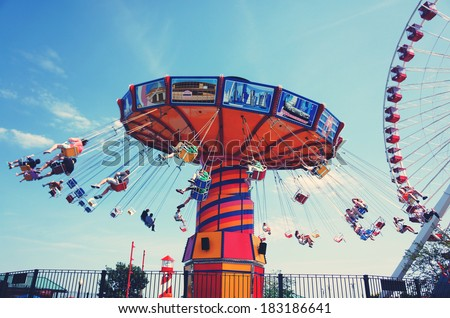 Giant Swing in summer  Stock photo ©