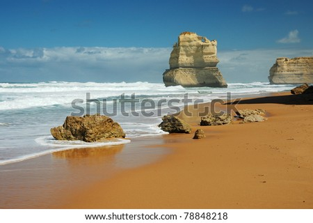 Gibson Steps and the Twelve Apostles - Victoria (Australia)