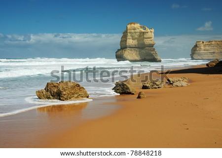 Gibson Steps and the Twelve Apostles - Victoria (Australia)