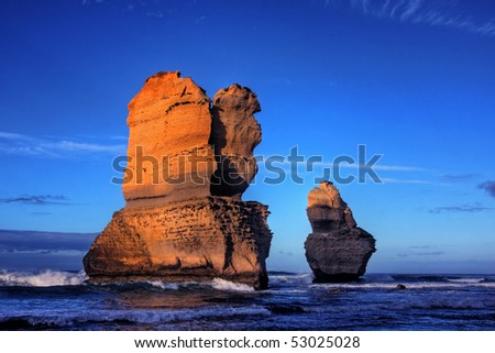 gibson steps and the twelve apostoles along great ocean road