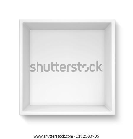 Gift box isolated on white background. 3d illustration #1192583905
