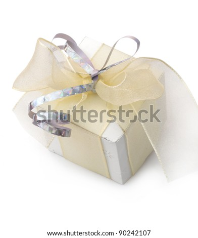 gift box with beautiful bow