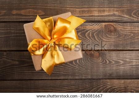 Gift, box, wood.