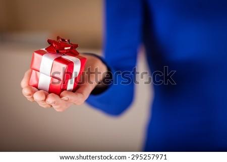 Gift, Christmas, Giving.
