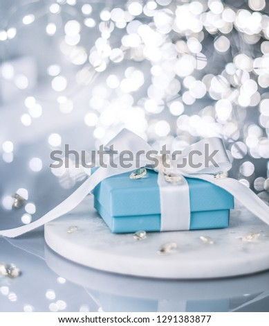 gift for her on valentine's day - holiday styled presents concept