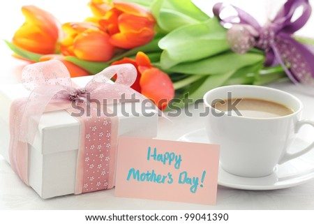 Gift for Mother\'s Day,Concept.