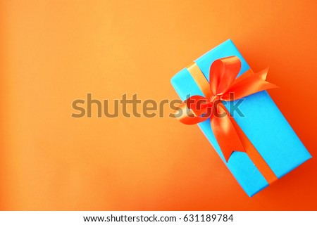 gift or present box wrapped in...