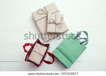Gift packages and packaged gifts  #595354817