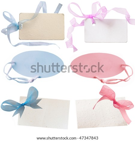 gift tags for baby boys and baby girls
