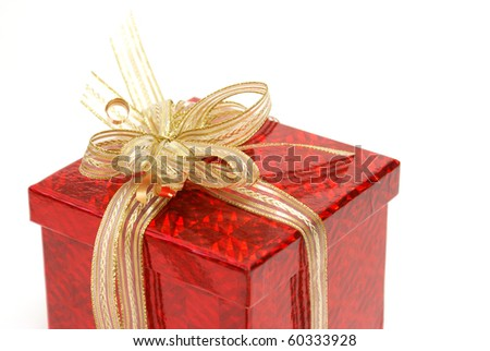 Gift with Gold Bow