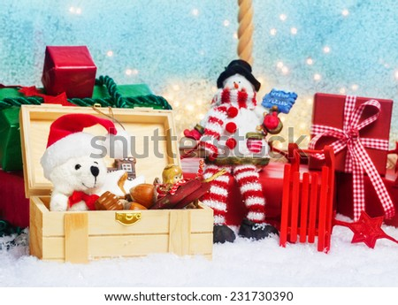 Gifts box, Surprise for Christmas