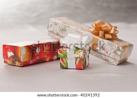 Gifts, heap of gifts