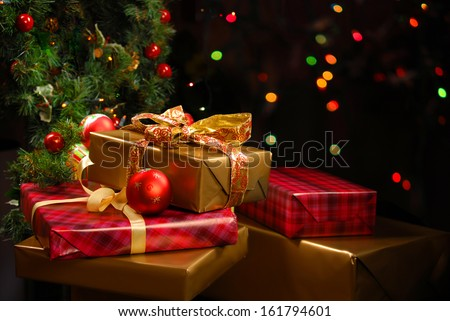 FREE IMAGE: Christmas Gifts Under The Tree | Libreshot Public Domain ...