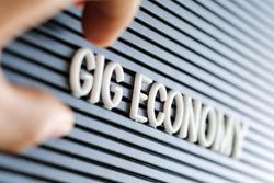 Gig Economy concept background