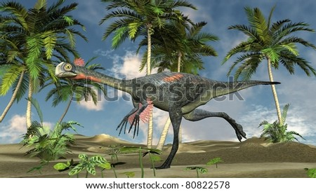 gigantoraptor run