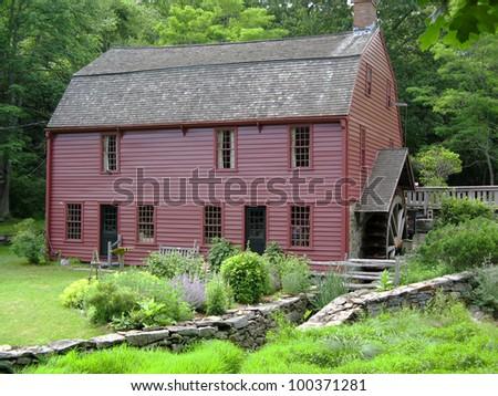 Gilbert Stuart Birthplace in Saunderstown, RI Horizontal