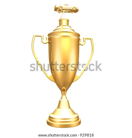 Auto Racing Photos on Gilded Auto Racing Trophy Stock Photo 929818   Shutterstock
