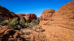 Giles Track (South to North), Watarrka National Park (Kings Canyon), Northern Territory, Australia