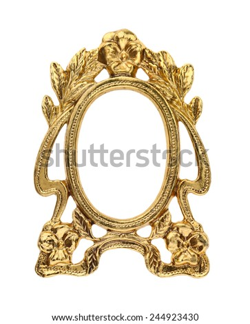 Gilt Gold Picture Frame Ez Canvas