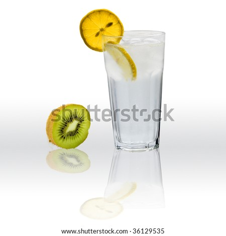 Gin with tonic cocktail