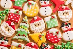 Gingerbread cookies,Christmas cookies, homemade