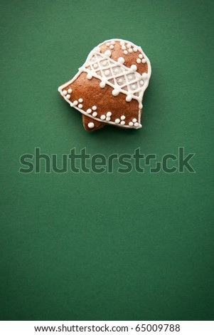 gingerbread for christmas - stock photo