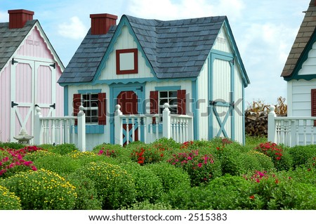 Garden Sheds That Look Like Houses 27 creative storage sheds that look like houses - pixelmari