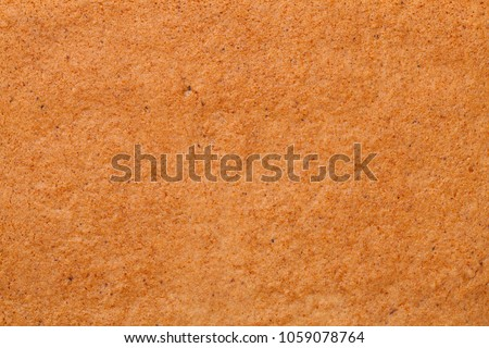 Gingerbread texture for background. Top view Stock photo ©