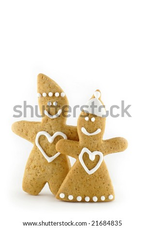 Gingerbreads in love