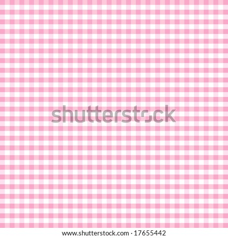 Gingham Check, seamless background, pastel pink and white pattern for sewing, arts, crafts, albums, scrapbooks and DIY home decorating.