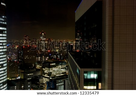 Ginza at Night - Tokyo