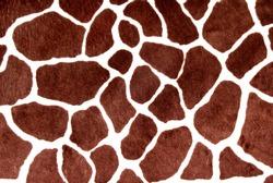 Giraffe spots for background