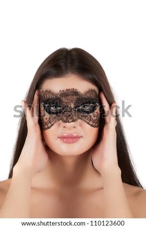 girl at mask