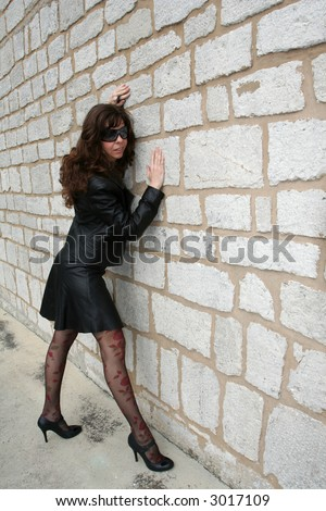 girl by the wall #3017109