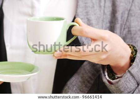 girl cafe #96661414