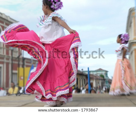 girl dancing on stage