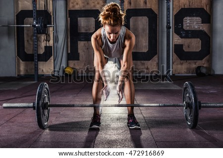 Shutterstock Girl Getting Ready For Crossfit Training