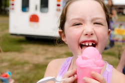 Girl Ice Cream - Ice Cream Truck