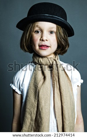 e09df23f7 Funny little boy.Hip-Hop Style. fashion… Stock Photo 195601028 ...