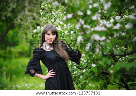 Girl in nature