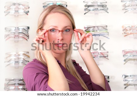 girl in the glasses