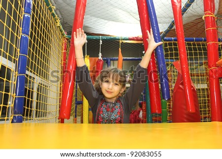 girl in the playground