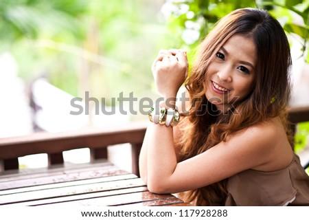 girl on counter bar