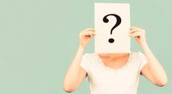 Girl question anonymous incognita Question mark. Anonymous, woman question, incognita. Anonymous woman. Female incognita.