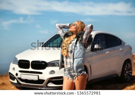 Girl, sexually, sexy, woman, female, auto, automobile, bmw, automobile, model, sexy, blonde, nature, fashion, style, relax, mood, emotions,  #1365572981