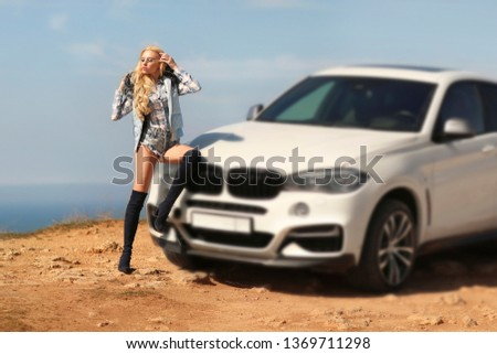 Girl, sexually, sexy, woman, female, auto, automobile, bmw, automobile, model, sexy, blonde, nature, fashion, style, relax, mood, emotions,  #1369711298